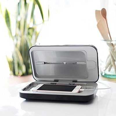 銀色 刷卡免運 ※台北快貨※最新三代PhoneSoap 3手機UV殺菌消毒器+充電S10 Plus Note10