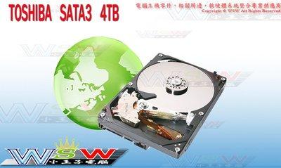 【WSW 硬碟】東芝TOSHIBA 4TB 自取3090元 MD04ACA400 7200轉/128M 全新盒裝 台中市