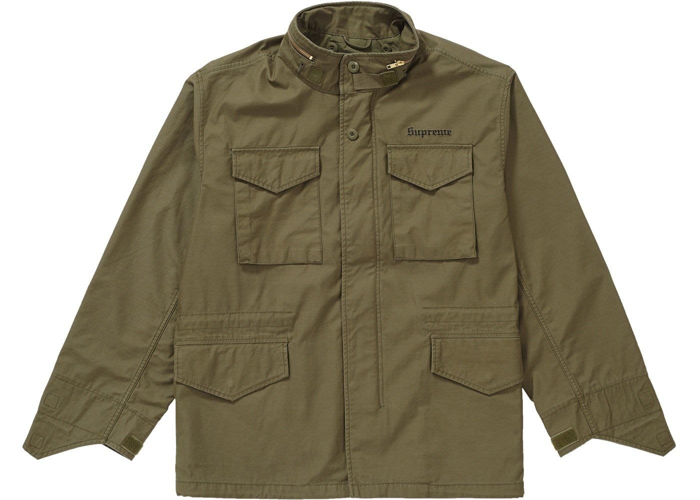 【美國鞋校】 預購 Supreme FW18 The Killer M-65 Jacket 黑/軍綠 2色