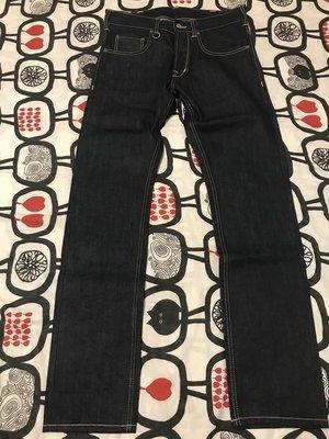 9成9新Pike Brothrers 1958Roamer 原色牛仔褲 尺寸:32X34