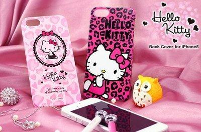 公司貨 GARMMA Hello Kitty 凱蒂貓 iPhone SE/5S/5 保護殼-趣味桃 手機殼