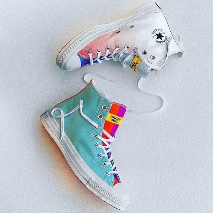 [RG專業代購]Chinatown Market x Converse Chuck70春夏新款紫外線變色男女帆布鞋(G)