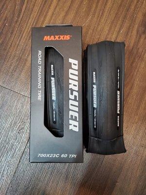 【冠鑫自行車】MAXXIS PURSUER 尋夢者 M225 700X25C 700x23C 可折外胎 訓練胎 公路車
