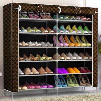 鞋架 台櫃鞋架多層牛津布鞋櫃收納宿舍防塵簡易組裝家用經濟型簡約現代