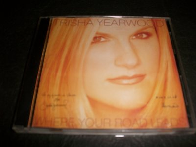 CD--TRISHA YEARWOOD/WHERE YOUR ROAD LEADS/2片裝