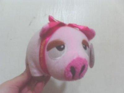 全新可愛風之谷粉紅蝴蝶結豬