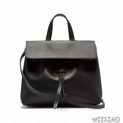 【WEEKEND】 MANSUR GAVRIEL Mini Mini Lady Bag 迷你 手提包 肩背包 黑+紅色