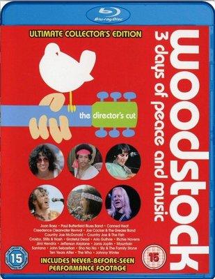 【正版BD】伍茲塔克 Woodstock: 3 Days of Peace & Music/雙碟/中文