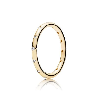 Pandora GOLD DROPLETS RING size50