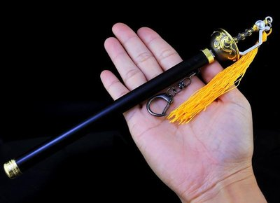 【現貨 - 送刀架】『 銀花劍 』23cm 刀 劍 槍 武器 兵器 模型 no.9774 台北市