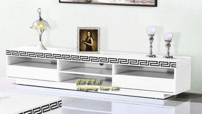 【設計私生活】巴克6.7尺白色鋼烤長櫃、矮櫃、電視櫃(全館一律免運費)A系列121 L