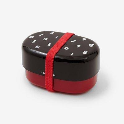 【Baby IN日本代購】京都 SOU‧SOU X 學研 雙層便當盒(數字)《日本製,現貨》