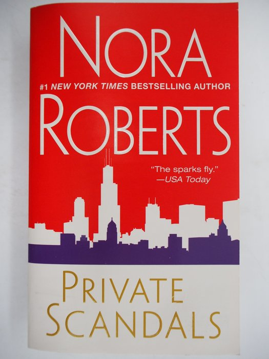 【月界二手書店】Private Scandals_Nora Roberts 〖外文小說〗AEH