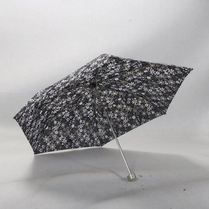 奇奇店-福太子禮頓黑白版本村上隆太陽花風格折疊晴雨傘#加固 #小清新 #晴雨兩用