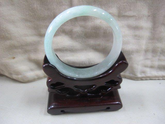 二手鋪 NO.4112 天然玉石 翡翠A貨 手環 玉環 玉鐲 手鐲 首飾飾品