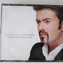 二手CD -喬治麥可George Michael(男男女女 2CD 精選),有細紋不影響音質,曲目在圖二