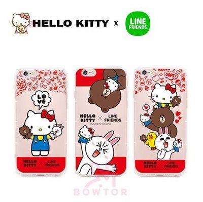 光華商場。包你個頭【Hello KittyxLINE】空壓氣墊 軟殼 iPhone6/6s Plus 4.7吋 5.5吋