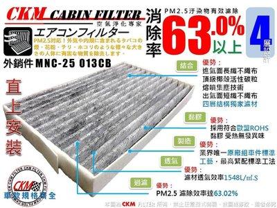 【CKM】納智捷 LUXGEN S3 16年後出廠 原廠 正廠 型 活性碳冷氣濾網 冷氣濾網 空氣濾網 粉塵 空調濾網