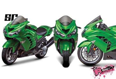 ♚賽車手的試衣間♚ Zero Gravity® Kawasaki ZX-14 / ZX-14R 06-19 SR款 風鏡