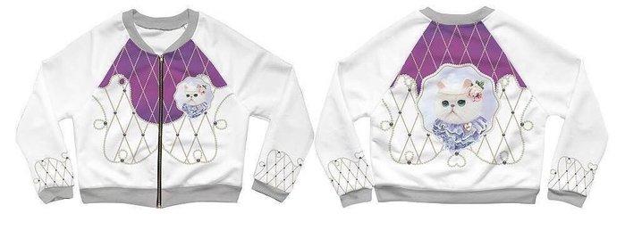 泰國正品(現貨) 設計師名款 可愛棒球輕薄外套,超可愛