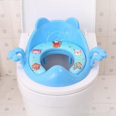 ZIHOPE 坐便器 兒童坐便器馬桶墊幼兒馬桶圈男女寶寶坐便圈嬰兒塑料坐便凳加大ZI812