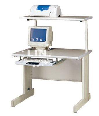 【品特優家具倉儲】◎P881-08辦公桌電腦桌HU整組含上架