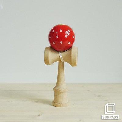 『Surpass』木質劍玉劍球 Strawberry 草莓球系列