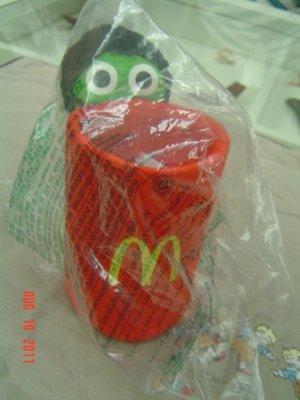 麥當勞 限量  Keroro  軍曹玩偶筆筒   全新/未拆封/已絕版    特價:250元