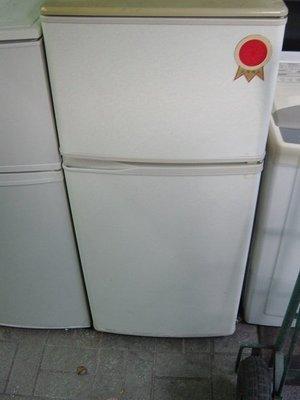 東元雙門冰箱上冷凍下冷藏七成新3500含運 保固 大清倉 破盤價