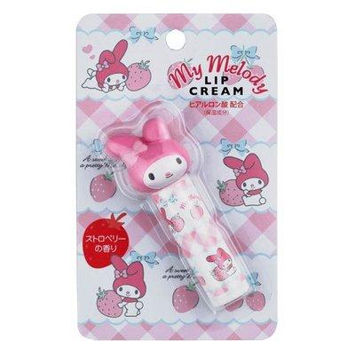 【小糖雜貨舖】日本 三麗鷗 雜貨 美樂蒂 Melody 護唇膏