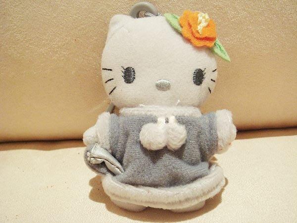 全新 McDanold s 麥當勞贈送 Hello Kitty 灰色玩偶吊飾,低價起標無底價!免運費!