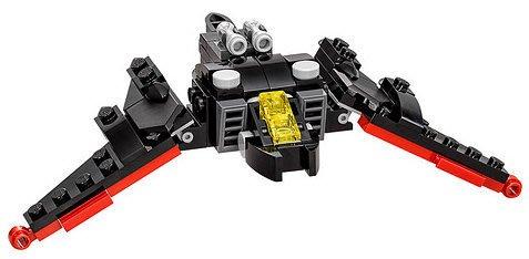 現貨【LEGO 樂高】全新美國正品 益智玩具 積木/ 蝙蝠俠電影 30524 | 迷你蝙蝠俠戰機 Batwing 袋裝