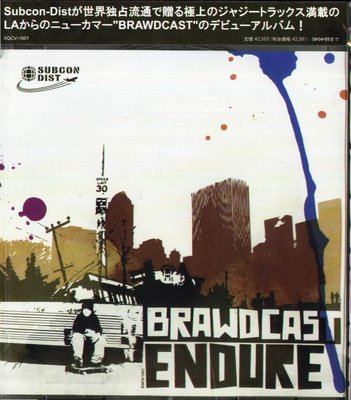 K - Brawdcast - Endure - 日版 - NEW