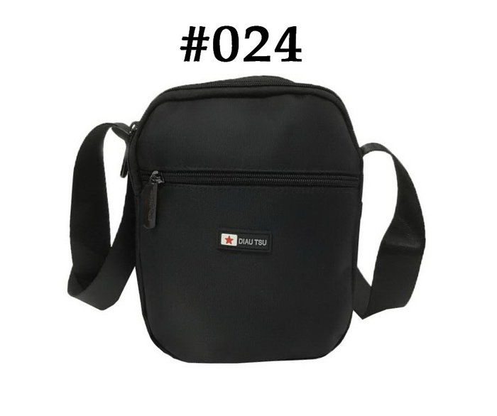 【菲歐娜】7785-(特價拍品)DIAU TSU斜背包(黑)024