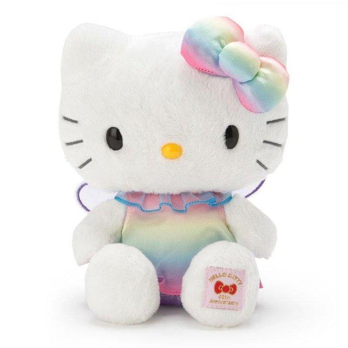紀念玩偶45th-KT彩虹仙女AAFG 凱蒂貓kitty 45周年紀念