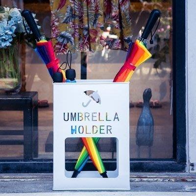 傘架酒店大堂雨傘架簡約現代收納架防銹創意家用箱框落地式辦公雨傘桶