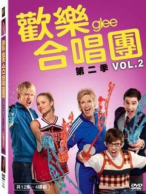 [DVD] - 歡樂合唱團 第二季 (下) Glee VOL.2 (4DVD) ( 得利正版 )