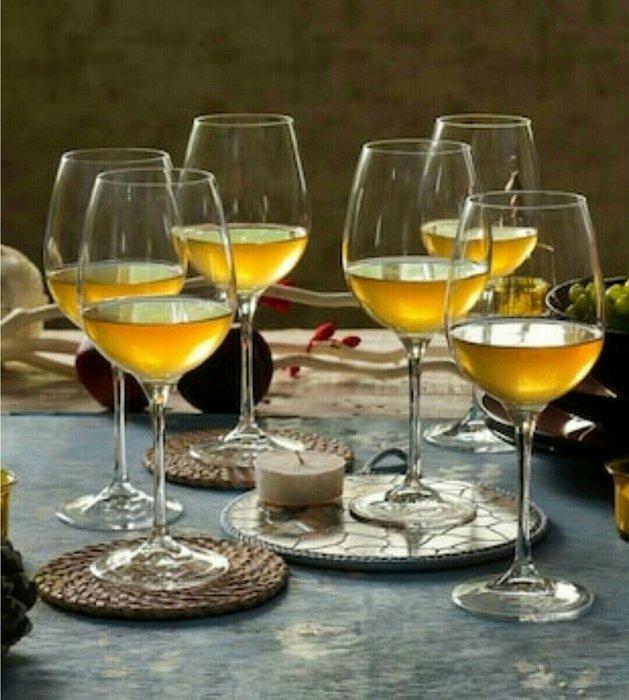 2入無鉛水晶玻璃手工吹製425ml紅酒杯白酒杯葡萄酒杯高腳杯(2入盒裝)【 蘇菲亞精品傢飾】