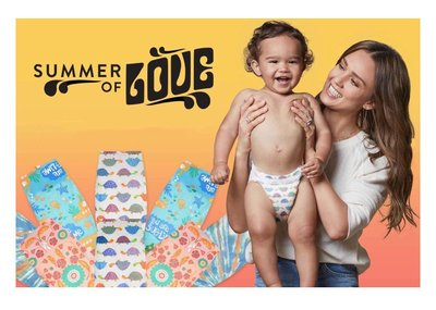 【美國預購】 The Honest Company環保 有機 無毒嬰兒尿布 ~2019夏季新款~
