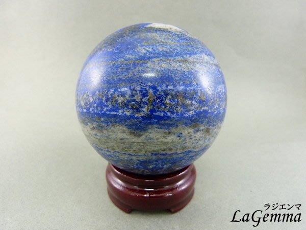 ☆寶峻晶石館☆新貨到~美麗深藍色 青金石球 BG-2 直徑7.8cm 加強表達,溝通能力以及增加說服力、自我信心