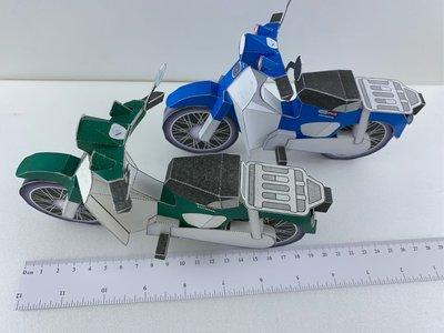 Honda 復古機車 super cub 紙紮 成品 現貨