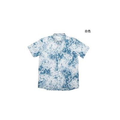 WaShiDa【716】SATURDAYS NYC 美國品牌 ESQUINA MINERAL 短袖 夏威夷 花紋 襯衫