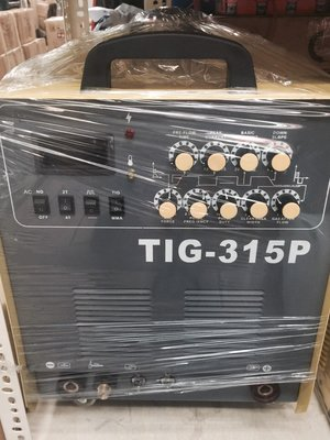 宇慶S舖可刷卡分期台灣精品 勇焊OEM 升級TIG-315P AC/DC 多功能交直流機 氬焊機/電焊機/鋁焊 皆可使用