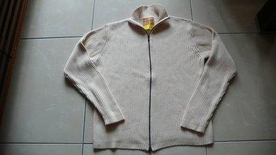 近全新 Polo Jeans Co.Ralph Lauren 米白色 針織上衣 外套