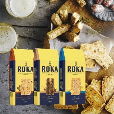 【BOBE便利士】荷蘭 Roka 洛卡 起司千層餅乾棒