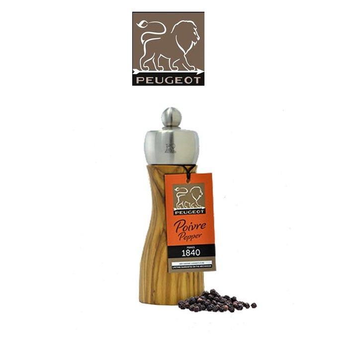 法國 Peugeot Fidji  15cm  橄欖木 胡椒研磨罐 研磨罐 香料罐 33804STD