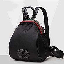後背包 側背包 范冰冰同款背包 雙肩包 牛津布搭配 真皮包包DL 922布配皮 【FQ包包】