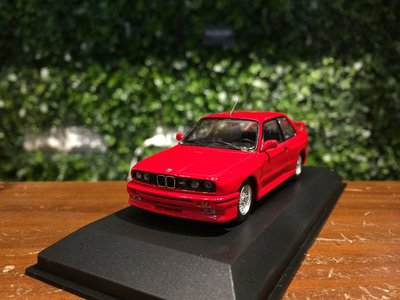 1/43 Minichamps BMW M3 (E30) 1987 Red 940020300【MGM】