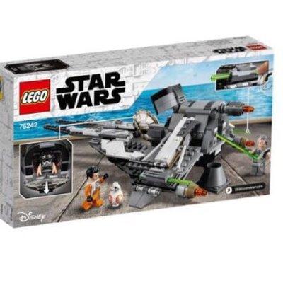 LEGO-Lt75242星際大戰系列~Black Ace TIE Interceptor