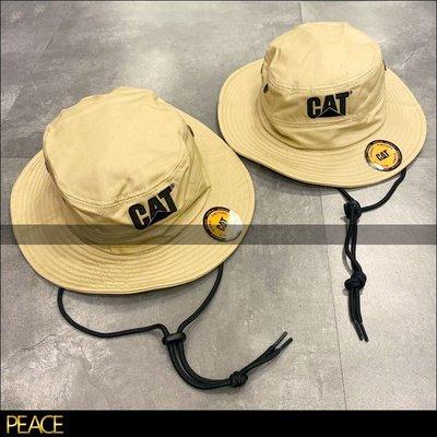 【PEACE】Caterpillar_Cat Trademark Safari 登山帽 漁夫帽 美國 工裝 老牌